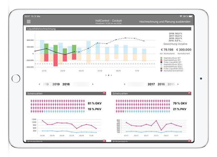 App Entwicklung Bremen Convelop – Referenz indiControl iPad Screen 2