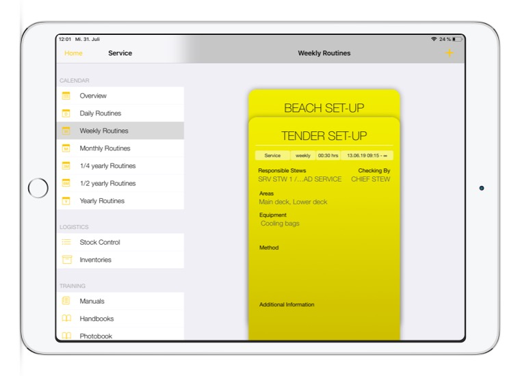 Convelop Referenz IMS Crystal – IPad Screen 2