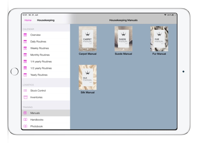 Convelop Referenz IMS Crystal – IPad Screen 3